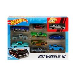 Hot Wheels 10'lu Araba Seti Karışık - Thumbnail
