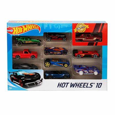 Hot Wheels 10'lu Araba Seti Karışık