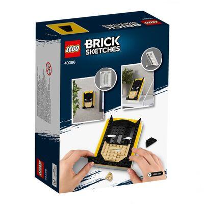 Lego Brick Sketches Batman 40386