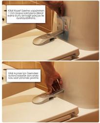 Tuvalet / Klozet Kapağı Kilidi - Thumbnail